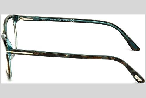Tom Ford Montures de lunettes 5388 Pour Femme Shiny Black, 52mm 056: Tortoise