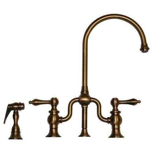 Whitehaus Antique Brass Widespread Faucet Widespread Antique Brass Whitehaus Faucet
