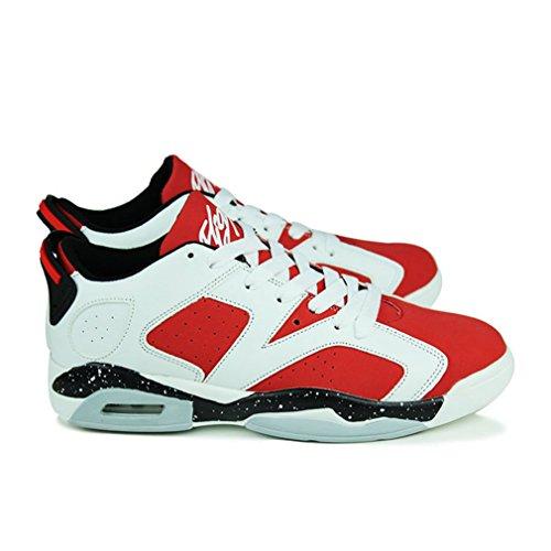 de adulto Unisex rojo botas blanco LFEU caño bajo BqRn5ZZUw
