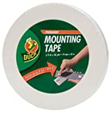 Duck Brand Permanent Foam Mounting Tape, Double-Sided, 0.75-Inch x 36 Yards, Single Roll