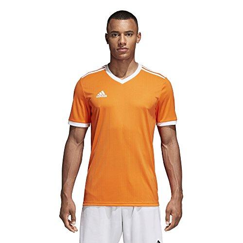 adidas Tabela 18 Jersey - Men's Soccer L Orange/White