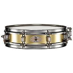 Pearl B1330 Piccolo Snare, 13-inchx3-inch, Brass