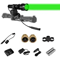LUMENSHOOTER Cree Green Red White Hunting Light Kit with...