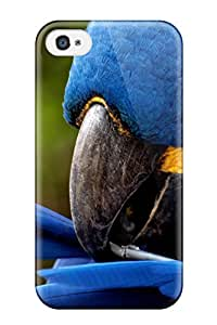 Irene R. Maestas's Shop Best Protection Case For Iphone 4/4s / Case Cover For Iphone(bright Blue Parrot) 8LYRN4AY1BD9R6EV
