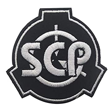 Foundation Special Containment Procedures Foundation SCP Logo Military  Patch Fabric Embroidered Badges Patch Tactical Stickers for Clothes with  Hook &