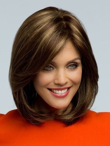 MARIAN SW0010 Synthetic Short Straight Fashion Layered Bob Wigs 1920s+A Free Wig Cap
