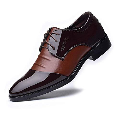 Taille Pu 39 Hommes Top 2018 Chaussures Pour Doublés Cuir Lacets couleur coloré Marron 43 Brun Formelles Oudan Eu Splice Même Respirants Oxfords Noir Taille aIwxI