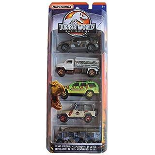 Matchbox 5 Pack Jurassic World Island Explorers