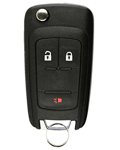 Price comparison product image Replacement Keyless Remote Fob Key Shell Case For Chevrolet Equinox Orlando Sonic GMC Terrain OHT01060512 5461A-01060512