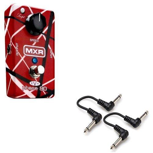 (MXR EVH 90 Eddie Van Halen Phase 90 Guitar Effect Pedal with 2 FREE 6