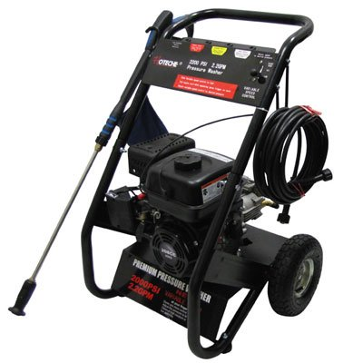 2200 PSI Power Washer Variable Pressure Washing (Commerci...