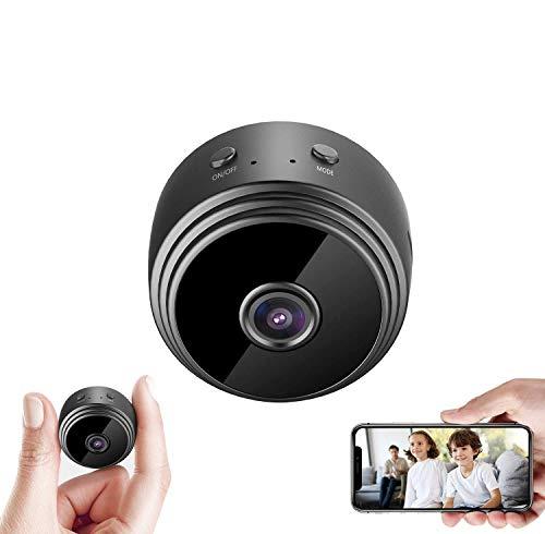 Mini Hidden Spy Camera WiFi Night Vision HD 1080P Motion Detection Small Video Camera Security Nanny Surveillance Cam…