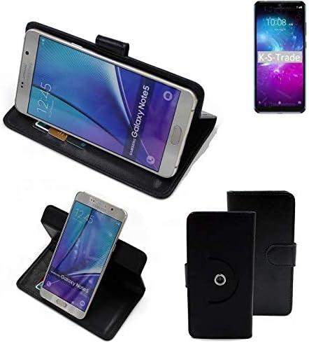 K-S-Trade® 360° Funda Smartphone para ZTE Blade A5 2020, Negro ...
