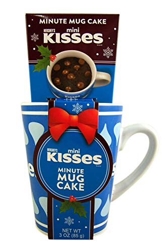 Hershey's Milk Chocolate Mini Kisses Minute Mug Cake Gift ()