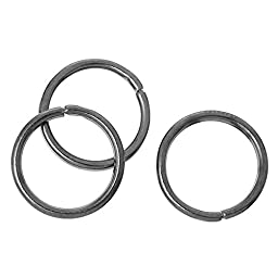 Open Jump Rings Round Gunmetal 10mm( 3/8\