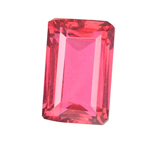 - Beautiful Pink Tourmaline 59.00 Ct Pendant Size Pink Tourmaline, Emerald Cut Pink Tourmaline Loose Gemstone D-1713