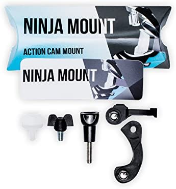 NINJA MOUNT soporte camara de acción para casco fullface ...