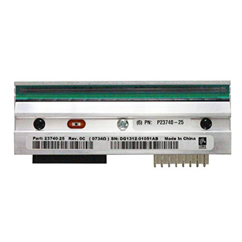 Life Printhead Extended - P23740-25 P1046696-099 Printhead for Zebra ZE500-4 RH LH Thermal Label Printer Print Engine 203dpi