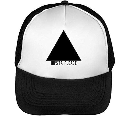Snapback Negro Gorras Triangle Black Hombre Blanco Please Beisbol Hipsta Fashioned 8qYT7nBxw