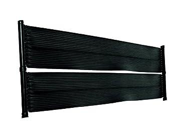 Placas calefactoras para piscina de well2wellness®, calefacción solar para piscina, 6,0