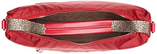 Rosso T Borbonese L Cm Hobo rubiop Tracolla A Con X w 30x29x12 H Nat Donna Borsa qqOECgrw
