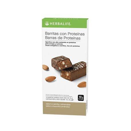 Herbalife Protein Bar –  Vanilla Almond (14 Barre per Scatola)