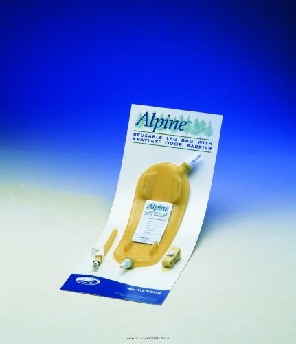 Alpine Leg Bag - Alpine Reusable Latex Leg Bag with Kraylex Odor Barrier [ALPINE LEG BAG REUSE LG 32OZ] (EA-1)
