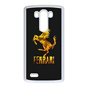 Classic Case Ferrari Logo pattern design For LG G3 Phone Case