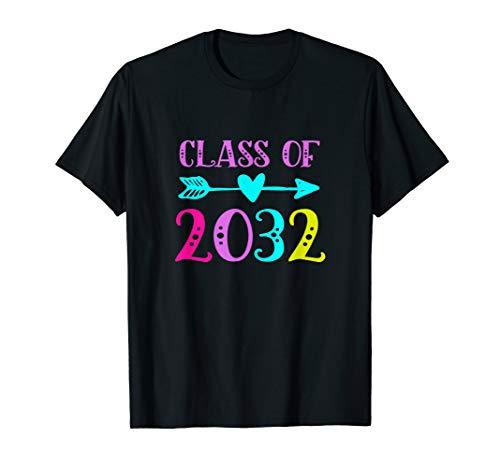 Kindergarten 2019 Tshirt Class Of 2032 Grow With Me T-Shirt (Best Class T Shirts)