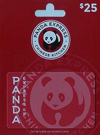 Amazon.com: Tarjeta de regalo de Panda Express.: Tarjetas de ...