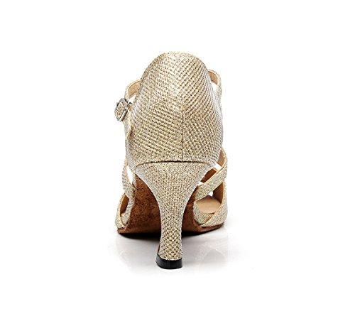 Minitoo - De salón mujer Gold-7.5cm Heel