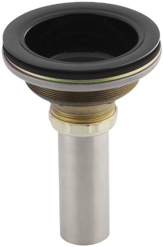 (KOHLER K-8804-7 Duostrainer Body, Black Black)