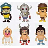 Kinnikuman Soft Vinyl Figure 4 whole set of 6
