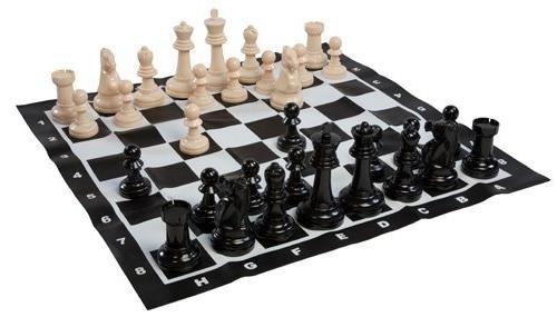 GamePoint Riesen Outdoor Schachspiel aus Kunststoff