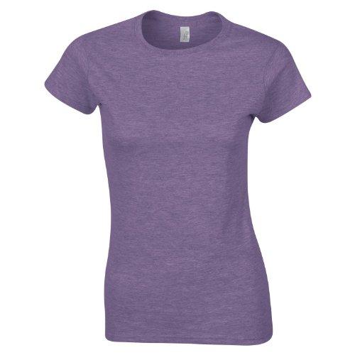 Softstyle™ Women's ringspun t-shirt COLOUR Heather Purple SIZE M