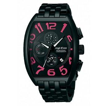 466bb96a4822 Amazon | エンジェルクローバー AngelClover ダブルプレイ ブラック/ピンク デイト クロノグラフ DP38BBP [国内正規品]  メンズ 腕時計 時計 | 国内メーカー | 腕時計 ...