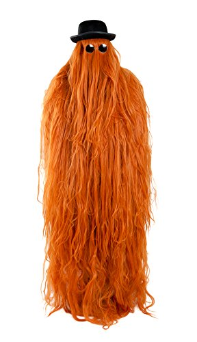 [Deluxe Hairy Cousin Wig Costume] (Cousin It Costume Addams Family)
