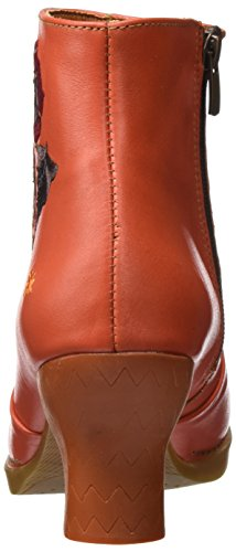 Art Ladies Harlem Short Boots Orange (stella Petalo)