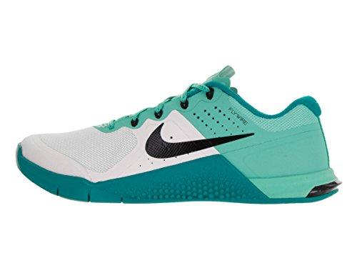 Nike Dames Metcon 2 Wit / Zwart / Hyper Turq / Energy Training Schoen 10 Dames Ons
