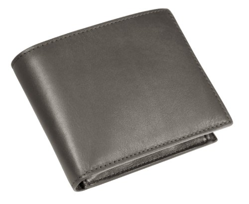 Lucrin Grey Smooth Mouse Lucrin wallet Mouse Grey wallet Standard Standard Leather TOprCT