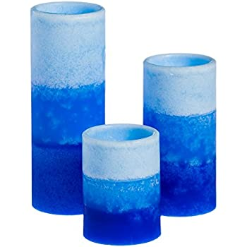 Amazon Com Set Of 3 Flameless Led Candles Color Changing