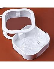 fdsfa Retainer Case Draagbaar, Retainer Box Gebit Box voor gebit, Retainer, Tanden Mond Tray, Mondbescherming, Brace, Spalk, Strakke Gesp Zonder Lekkage, Tandheelkundige Gereedschap En Accessoires