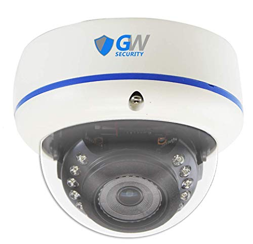GW Security 5 Megapixel 4-in-1 HD TVI/AHD/CVI / (5MP/4MP/2MP 1080P/960H 1200TVL) CCTV Outdoor Indoor 360˚ Fisheye Lens Dome Security Camera
