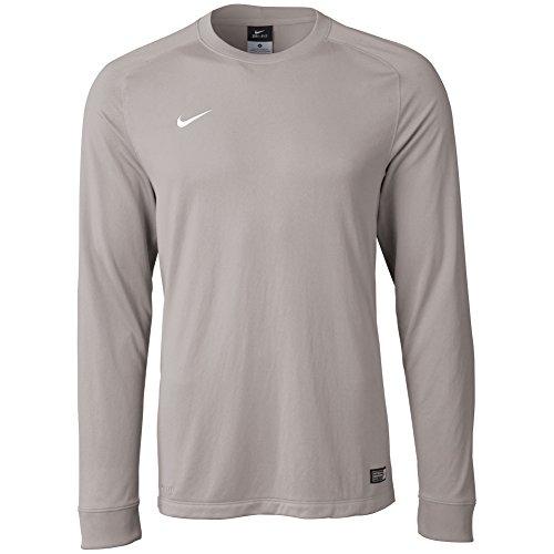 Nike Goalie Jersey (Nike Men's Long Sleeve Park Goalie II Soccer Goalkeeper Jersey (Large) Matte Silver)