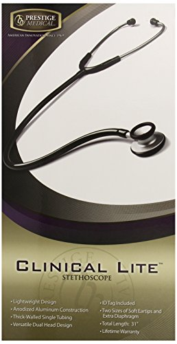 Prestige Medical Clinical Lite Stethoscope, Navy