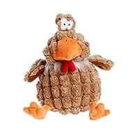 Petface Farmyard Buddies Chunky Chicken Dog Toy