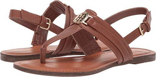 (Tommy Hilfiger Lancia Women's Sandal 10 B(M) US Luggage Tan)