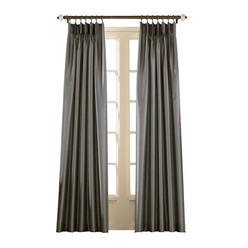 The Curtain Shop Braddock Jacobean Thermal Damask Pinch Pleat