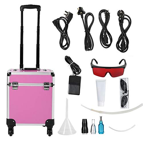 SISHUINIANHUA Permanent Makeup Portable Eyebrow Tattoo Pigment Birthmark Removal Machine Dilute Freckle Beauty Device Tattoo Equipment Kits,EU