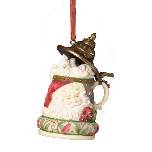 Enesco-Heart-of-Christmas-Santa-Stein-Ornament-339-Inch